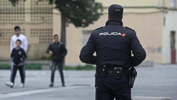 Un agente de la Policía Nacional, en una imagen de archivo