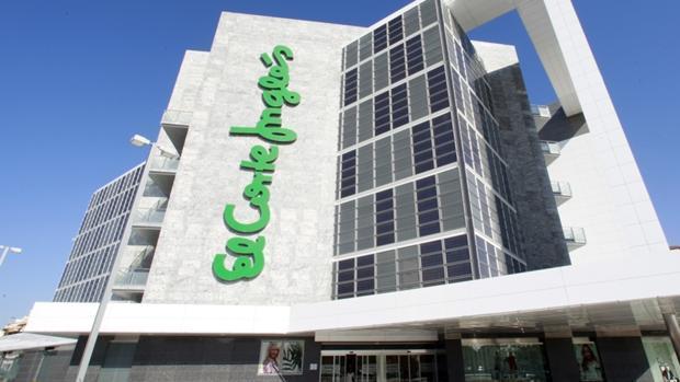 Edificio de El Corte Inglés de Albacete