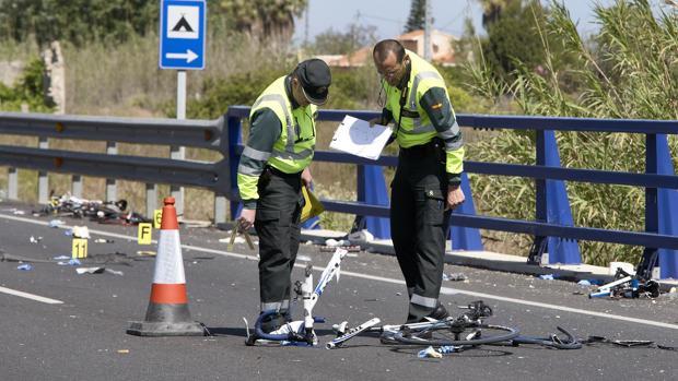 Imagen de archivo de la carretera N-332, donde tuvo lugar el mortal accidente ciclista en mayo de 2017