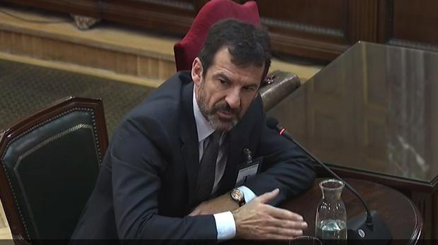 El comisario de los Mossos Ferran López, en el Tribunal Supremo