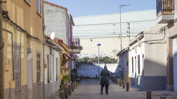 Casa del barrio de las Vírgenes, en Leganés, donde ocurrió el suceso