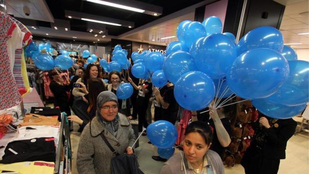 Clientas en una apertura de Primark en la Comunidad Valenciana