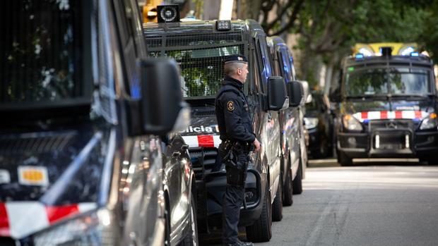 Agentes de los Mossos d'Esquadra, en una imagen de archivo