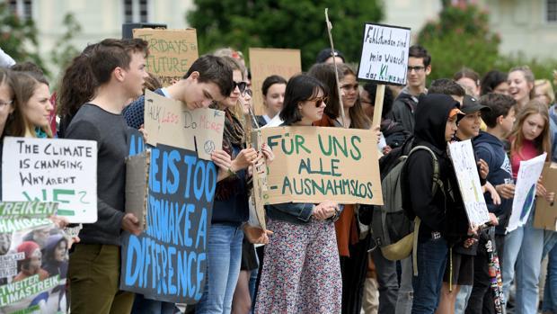 Protesta de Fridays for Future en Viena, hace solo unos días