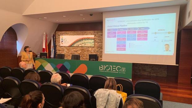 Presentación de resultados en el Congreso Nacional de Biotecnología en Vigo