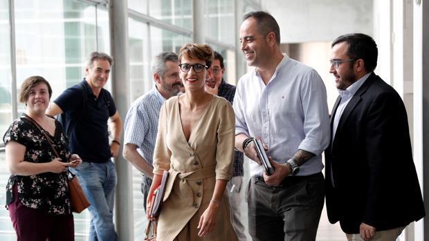 Podemos y Bildu ponen trabas a la investidura de Chivite en Navarra