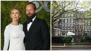 Sting hace caja con la venta de su casa de Londres y de sus cuadros