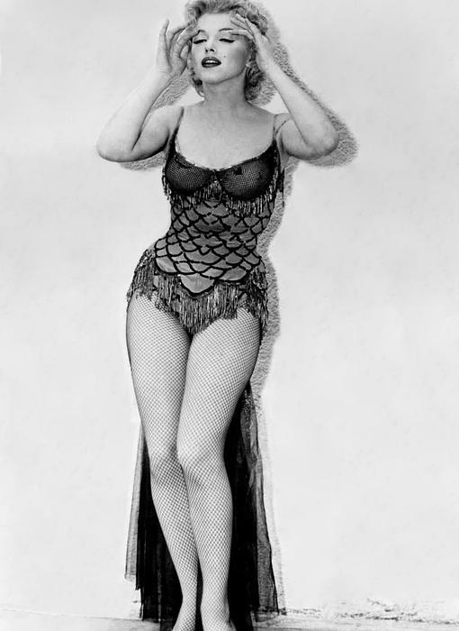 Marilyn Monroe, en los años 50