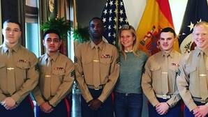 La visita relámpago de Gwyneth Paltrow a Madrid