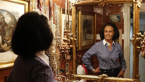 Sonsoles Diez de Rivera, la primogenita de Sonsoles de Icaza