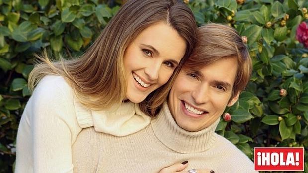 Imagen de la exclusiva de la pareja en la revista