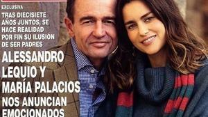Alessandro Lequio vuelve a ser padre a los 55