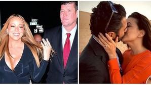 Guerra de anillos de compromiso: el diamante de Mariah Carey frente al rubí de Eva Longoria