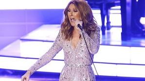 Celine Dion rompe a llorar en plena actuación