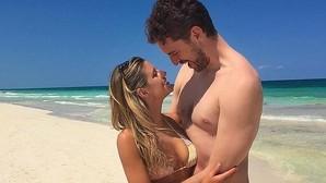 Pau Gasol presenta en las redes sociales a su nueva novia