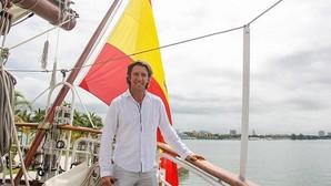 Colate rememora su mili como marinero del Juan Sebastián de Elcano
