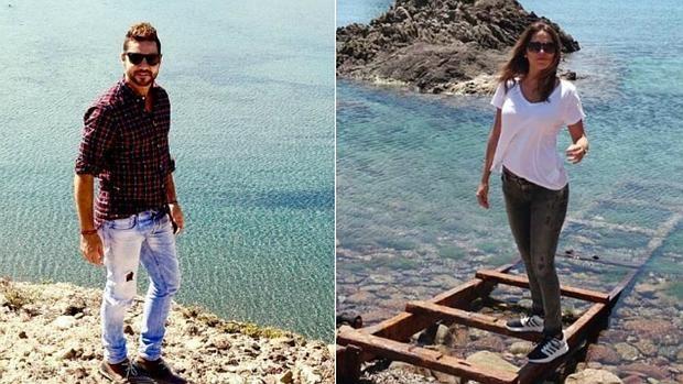 David Bisbal y Rosanna Zanetti en Almería
