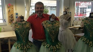 Los vestidos de Lorenzo Caprile conquistan la escena berlinesa