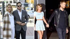 Taylor Swift y Calvin Harris a la gresca como Alba Carrillo y Feliciano López