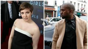 Lena Dunham declara la guerra a Kanye West