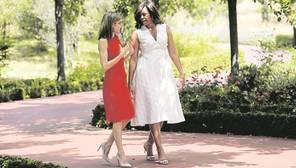Doña Letizia y Michelle Obama, amigas y aliadas