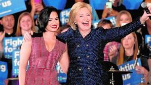 Los famosos se suben al carro de Hillary