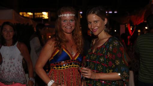 Corinna Graf y María León también se unieron a la celebración