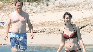 Las lujosas vacaciones de los Cameron en la isla de Córcega