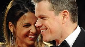 Las hijas de Matt Damon, rechazadas por un exclusivo colegio en Nueva York