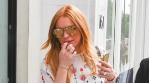 El impactante vídeo que muestra la gran pelea de Lindsay Lohan y su exnovio