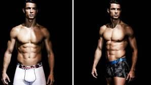 Cristiano Ronaldo, modelo de su línea de ropa interior