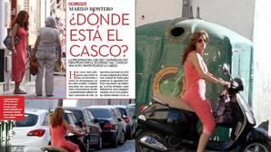 Mariló Montero, «pillada» sin casco