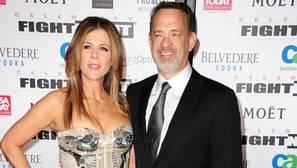 Tom Hanks y Rita Wilson, enamorados como el primer día