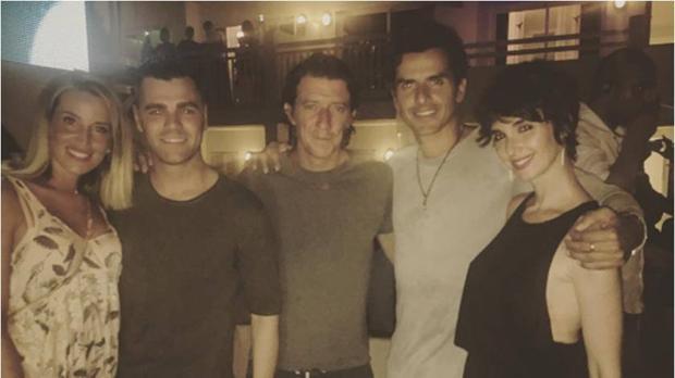 Fonsi Nieto compartió la foto del grupo en su cuenta de Instagram