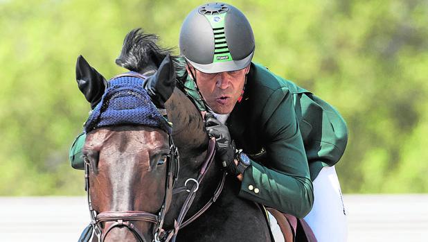 Miranda a lomos de Cornetto K durante los recientes Juegos de Río