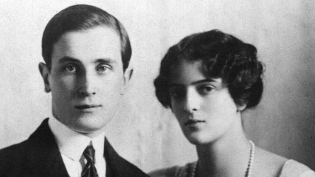 Félix Yusúpov (1887-1967) y su esposa, la princesa Irina Románova (1895 -1970)