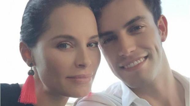 Soraya y Miguel Ángel en una foto publicada en las redes sociales