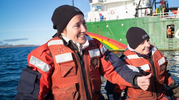 Emma Thompson en el Ártico