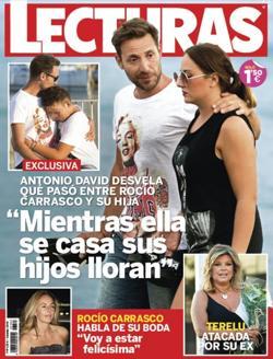 Antonio David arropando a sus hijos en el peor momento con su madre