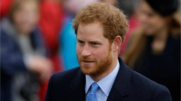 El príncipe Enrique en una imagen publicada por el palacio Kensington