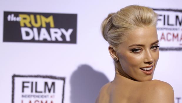 Amber Heard en el 2011