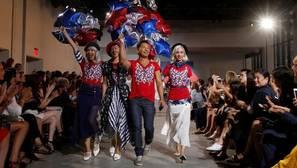 Hillary reina en la moda
