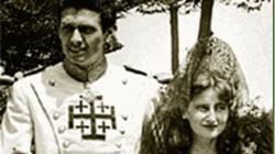 Leoncio González de Gregorio y su mujer, Isabel Álvarez de Toledo