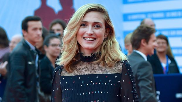 La actriz francesa en el Festival de Cine Norteamericano de Deauville
