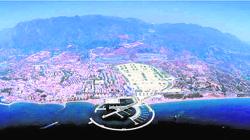 Recreación del nuevo puerto marbellí, cuya inversión iba a ser millonaria