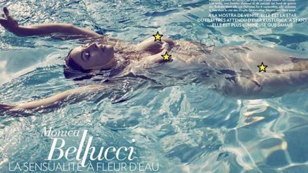 Instagram:  El desnudo de Monica Bellucci que ha revolucionado las redes