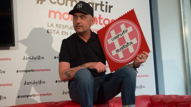 David Delfín: «Rendirse a la enfermedad no me parece algo atractivo»