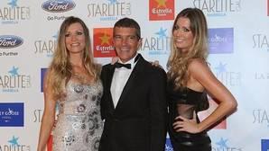 Antonio Banderas se fijó primero en la hermana gemela de su novia
