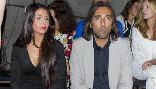Antonio Carmona y su novia, Sara Verdasco