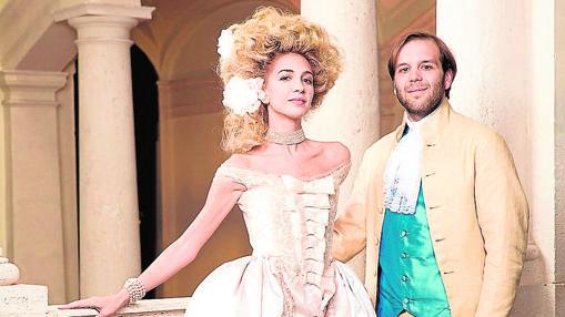 Para su boda, Sabine y su marido, Joseph Getty, se caracterizaron como los personajes de «Las amistades peligrosas»